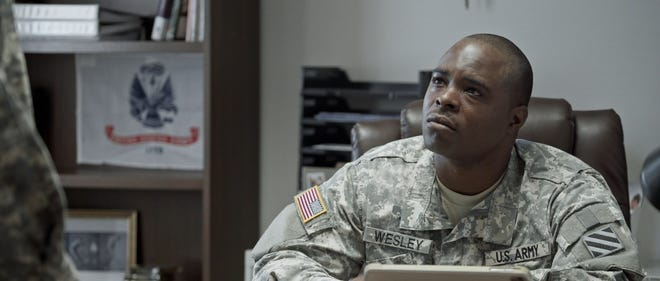"""Donte Wilburn, a Harrison graduate, in the upcoming movie """"Counter Column."""""""