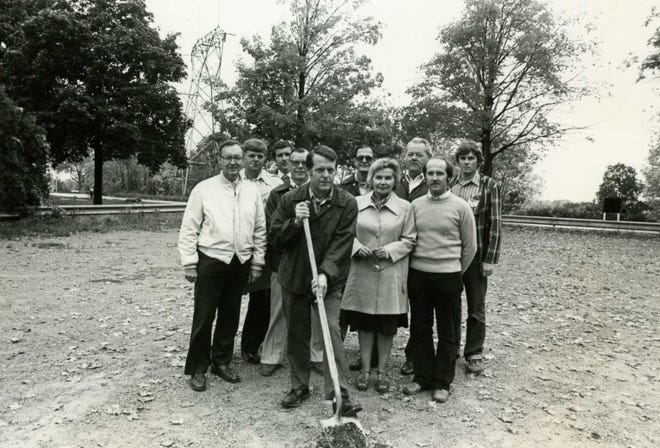 October 1979: Groundbreaking of Fox Communities Credit Union's first stand-alone office in Combined Locks.