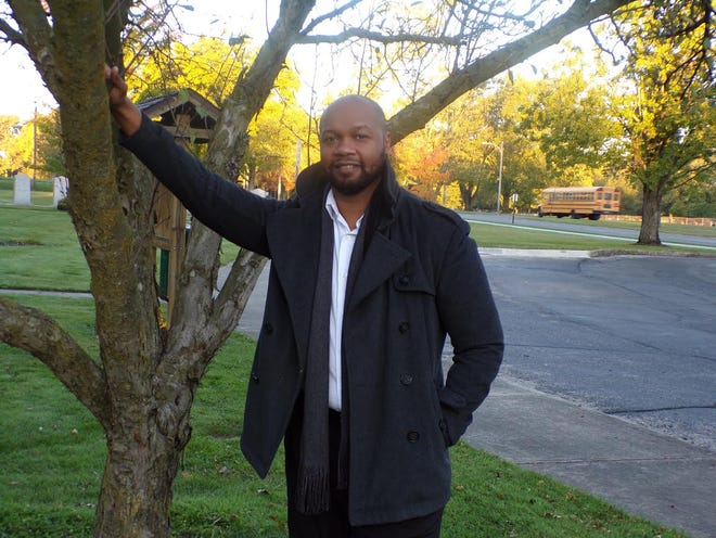 """Johnnie Jackson loves Marion. He shared, """"I feel, in my heart and body, I am a lifelong resident of Marion, Ohio because everywhere I go, I take my city."""""""