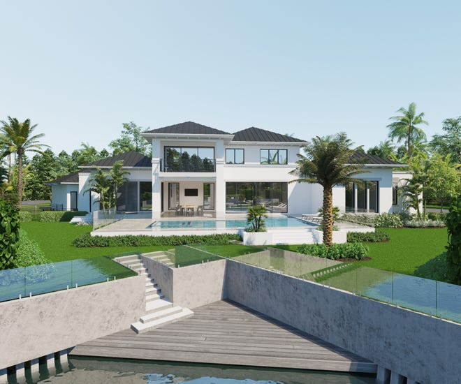 CGU Homes, a Naples-based luxury homebuilding and remodeling contractor, recently began the construction on a private residence in Delray Beach.