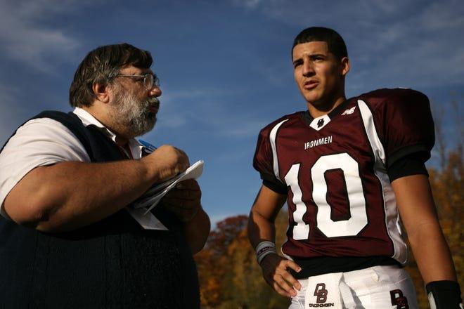 Mark Czerwinski interviews Don Bosco quarterback Gary Nova in 2009.