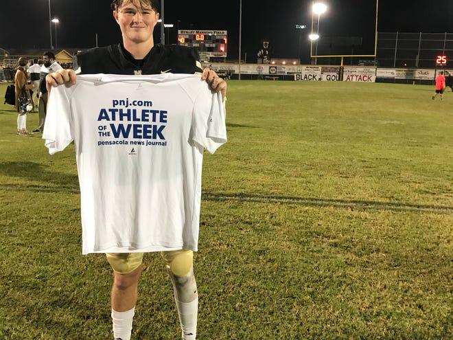 Milton quarterback Tyler Buchanan, PNJ Athlete of the Week (Sept. 28-Oct. 3)