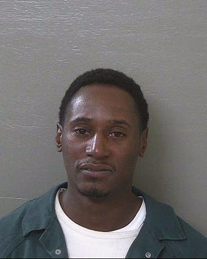 Antwan Montrex Smith's 2018 mugshot at the Escambia County Jail.