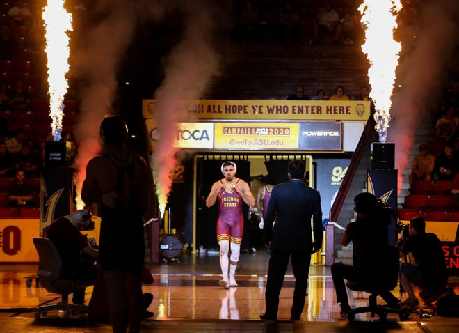Former Arizona State wrestling star Zahid Valencia will return from a suspension for a drug violation next month and return to competition against Jordan Burroughs on Nov. 14.