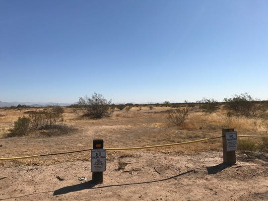 A large parcel of state land near Meridian and Elliot roads in Pinal County will be auctioned on Oct. 20, 2020. It is part of a vast tract known as Superstition Vistas.