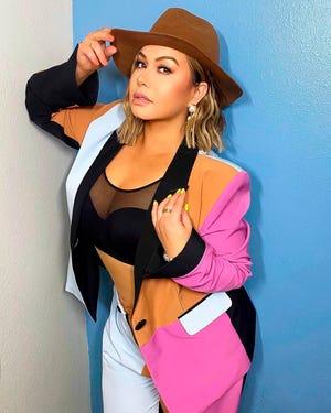 """Fotografía personal cedida donde aparece la cantante Chiquis Rivera quien aseguró en entrevista con Efe que hizo su disco """"Playlist"""" con los premios Grammy en la mente."""