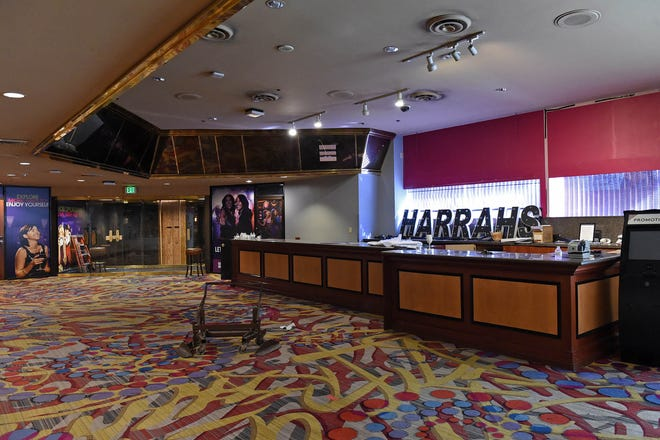 Much of the former Harrah's Hotel Casino has been cleared out and ready for renovation.