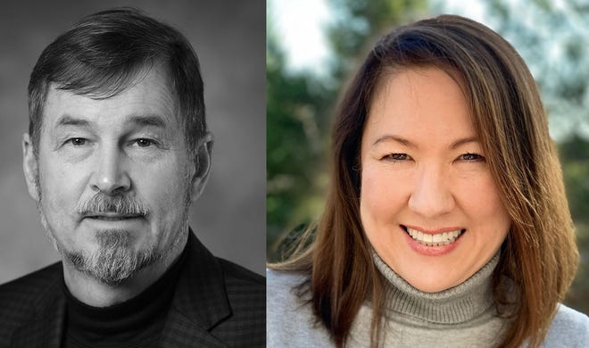 Senate District 12 candidates: Brian Boquist, Bernadette Hansen