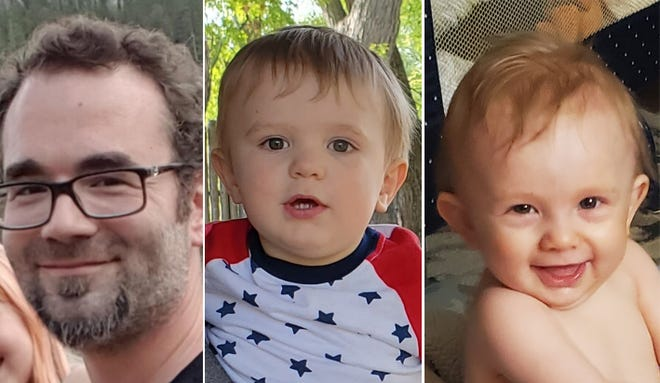 Apallo and Kingston Gutzmer were last seen with their father, Cody Gutzmer, Sioux Falls Police said.