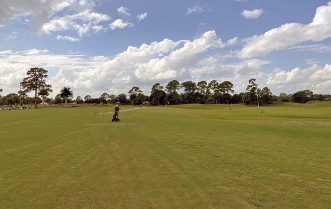 PGA Golf Club in Port St. Lucie recently increased the size of the practice range that serves three championship courses from 300 linear feet to 550 to allow for more social distancing during practice.
