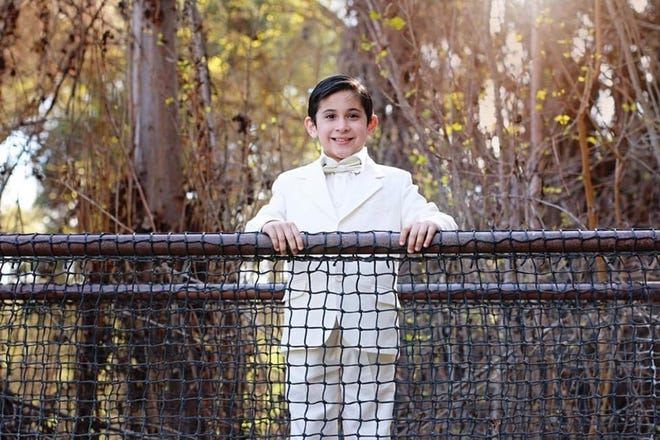Santiago Vazquez, a 10-year-old at Wilson Elementary School, is among the students recognized by the Tulare County Office of Education as part of the nationwide Character Counts program.