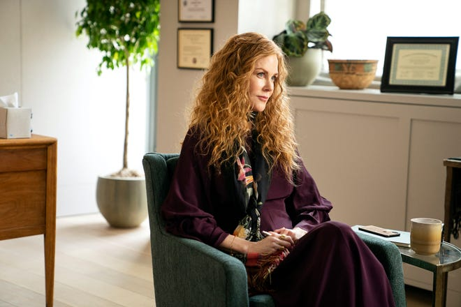 "Nicole Kidman takes the therapist's chair in ""The Undoing,"" after playing an abused housewife who goes to therapy in ""Big Little Lies."" ""I grew up the daughter of a psychologist, so I've just grown up with that my whole life,"" Kidman says."