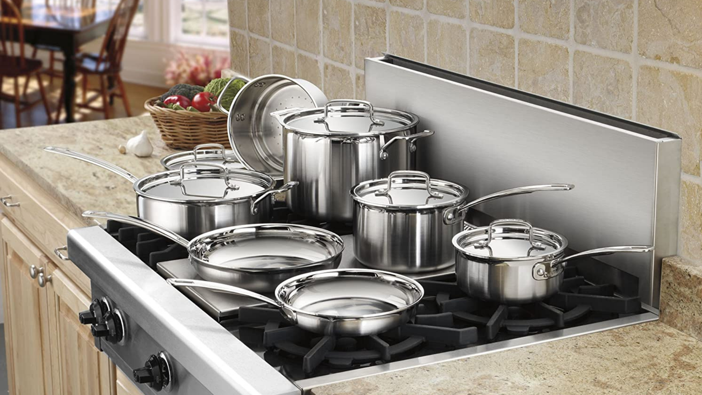 Upgrade your cookware with Amazon's discounts on Cuisinart, Calphalon, All-Clad and more