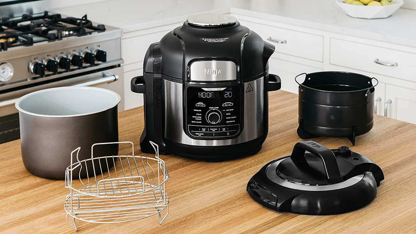 You can save big on this Ninja Foodi pressure cooker and air fryer for Prime Day 2020