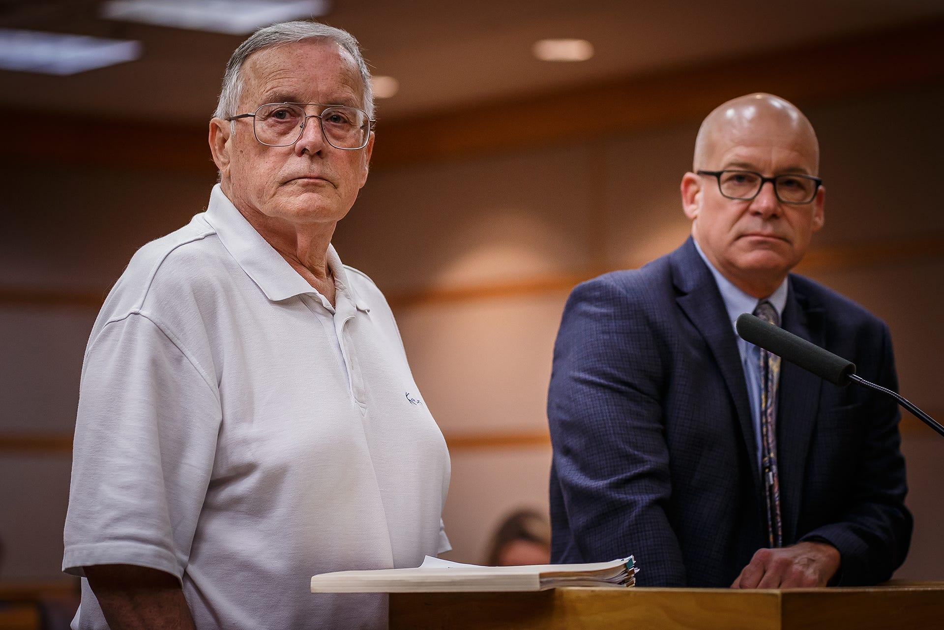 Robert Metzner in court
