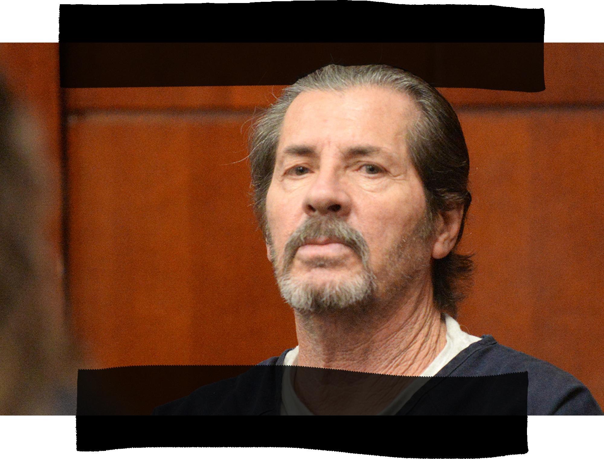 Rick Hazel in court