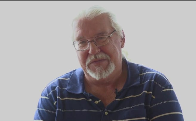Steve Gordon, Vietnam combat veteran who retired from the US Coast Guard after 25 years.