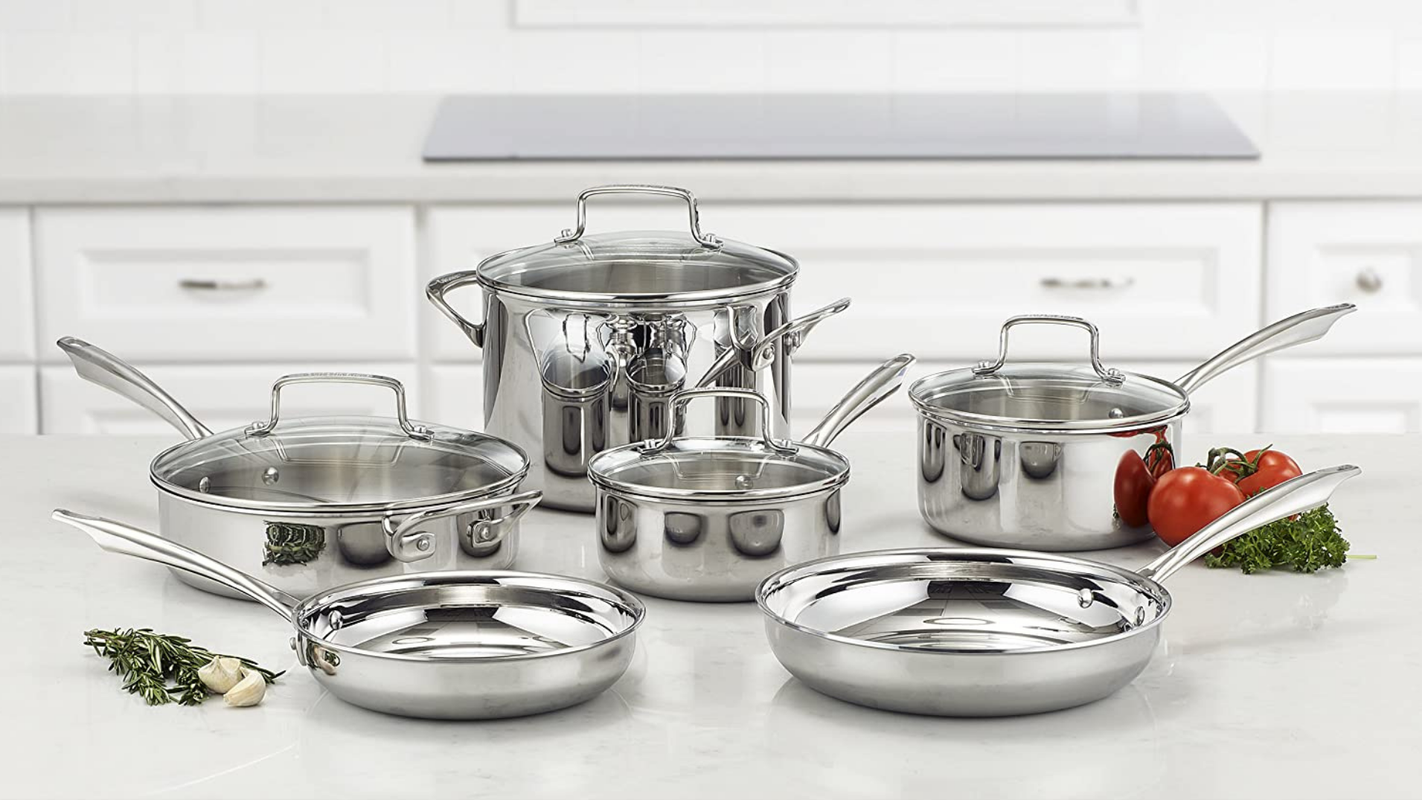 This popular Cuisinart cookware set just got a major price cut for Prime Day 2020
