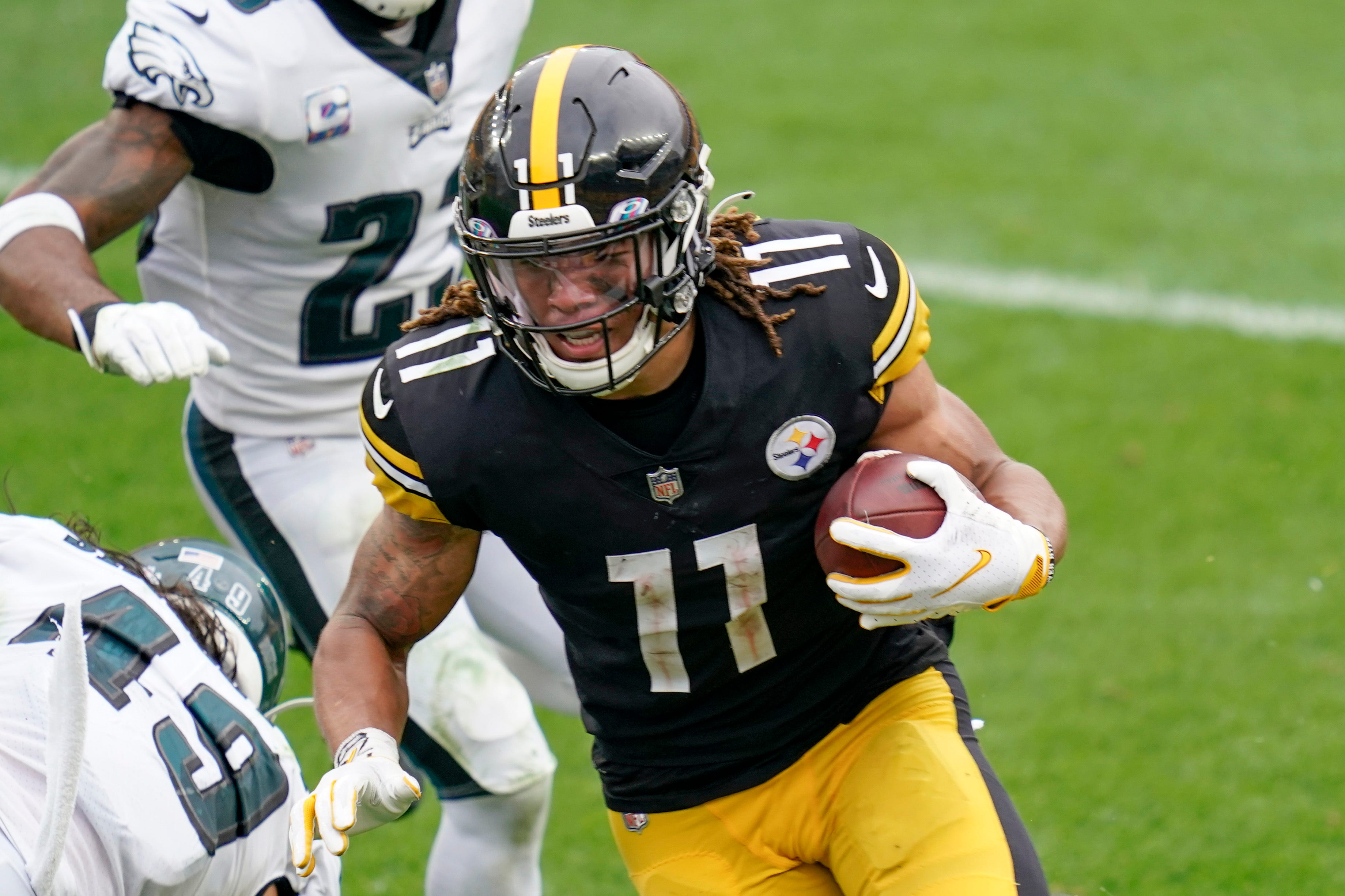 Fantasy football waiver wire: Steelers' Chase Claypool rises to the top of deep wide receiver pool