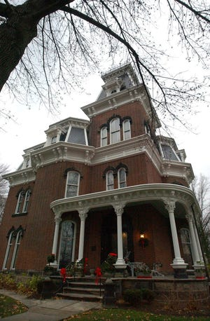 Hower House is celebrating its 150th anniversary this year. Akron industrialist John Henry Hower and his wife, Susan, built the mansion in 1871.