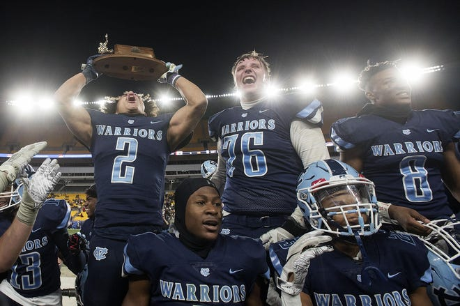 Last year, Central Valley celebrated its WPIAL Class 3A title at Heinz Field. If the Warriors make it back to the final this year, they won't play at Heinz Field. All six finals will likely be played at neutral high school sites.