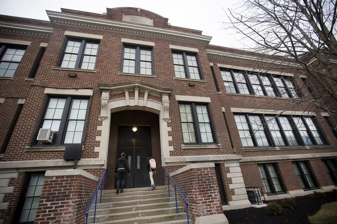 Columbus Collegiate Academy, a 6th-8th grade charter school, is in a historic building that used to belong to Columbus City Schools.