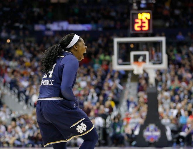 The 2018 Women's Final Four in Columbus was among the most exciting in tournament history, highlighted by Arike Ogunbowale's winning shot to give Notre Dame the title against Mississippi State.
