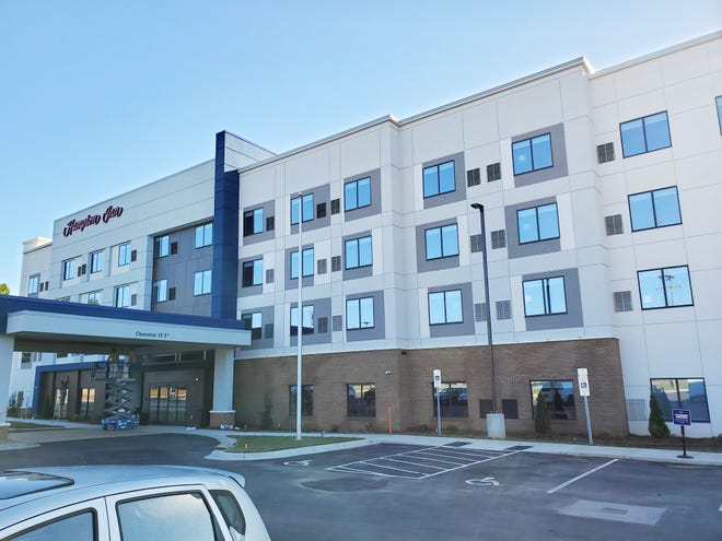 The Hampton Inn will open its doors for guests on Oct. 15. Located on Fairview Drive, it is the newest hotel in Lexington.