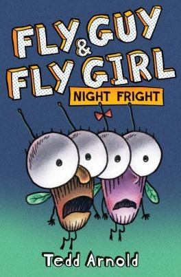 """""""Fly Guy & Fly Girl: Night Fright"""" book by Tedd Arnold"""