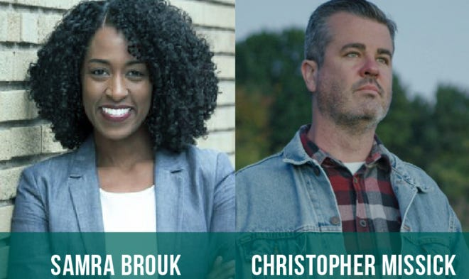 New York 55th Senate candidates Samra Brouk and Chris Missick are running to succeed state Sen. Rich Funke, who is not seeking re-election.