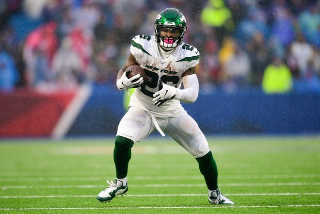 The Jets released running back Le'Veon Bell this week.
