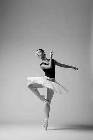 Marijana Dominis is one of the Sarasota Ballet dancers feaured in a digital program designed for viewing at home of pieces by Sir Frederick Ashton. The program opens the company's 30th anniversary season.