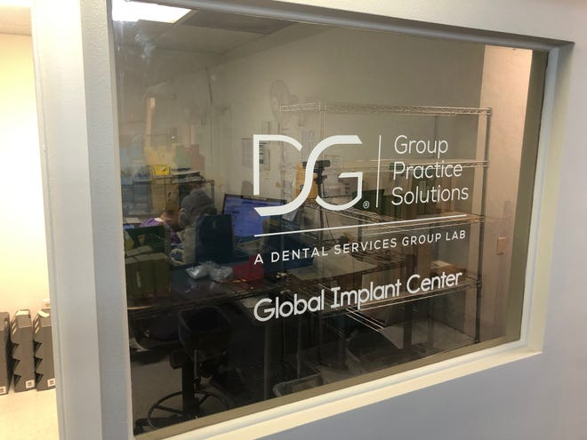 The Group Practice Solutions dental lab, in Sarasota.