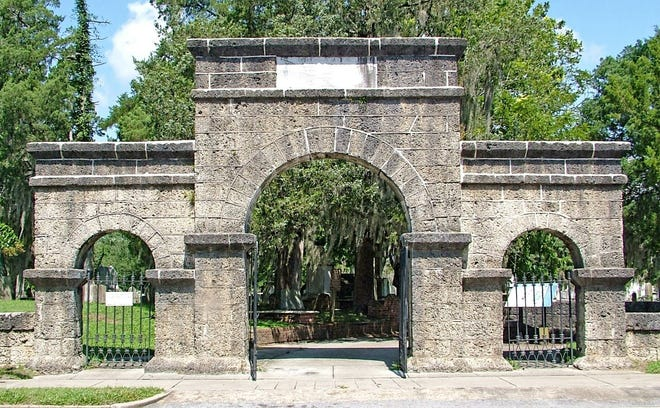 The Weeping Arch at Cedar Grove Cemetery in New Bern. [CONTRIBUTED PHOTO]