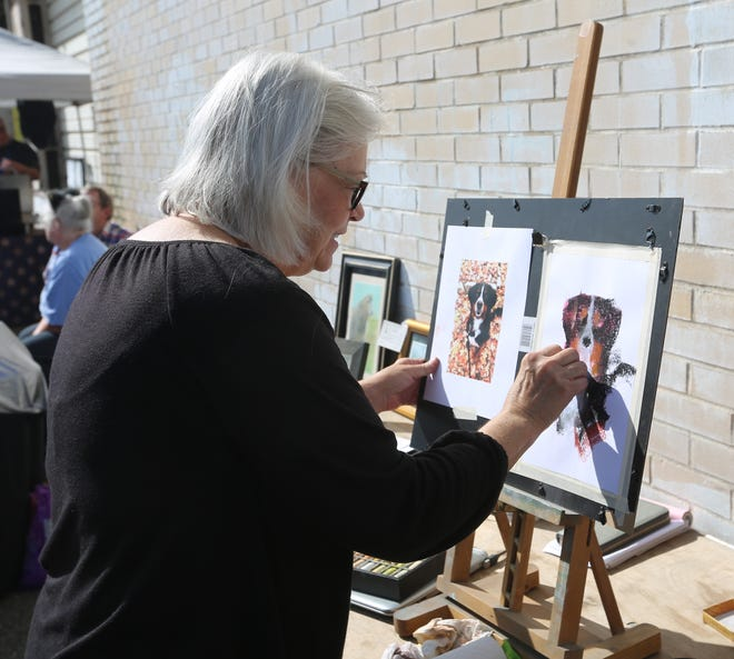 Local artists will be featured at Art on the Alley.