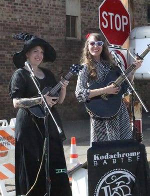 The Kodachrome Babies were part of a variety of entertainment at Art on the Alley last year.