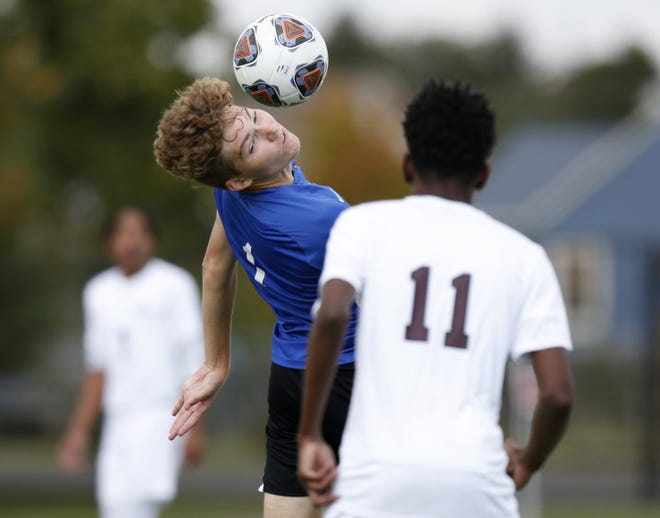 Adam Orrell and the Grove City Christian boys soccer team captured the program's first league title by going 6-0 in the MSL-Cardinal Division. The Eagles won all six games by shutout.