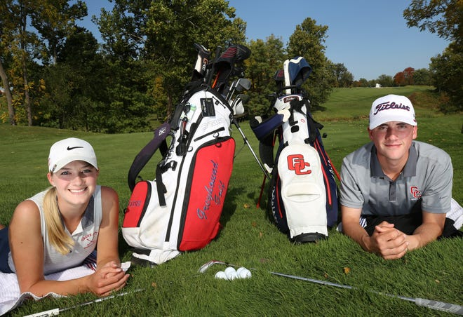 Grove City senior golfers Lizzie Saur and Jeremiah Bane both saw standout prep careers come to a close after competing in Division I district tournaments Oct. 13. Saur also was OCC-Ohio Player of the Year this fall.