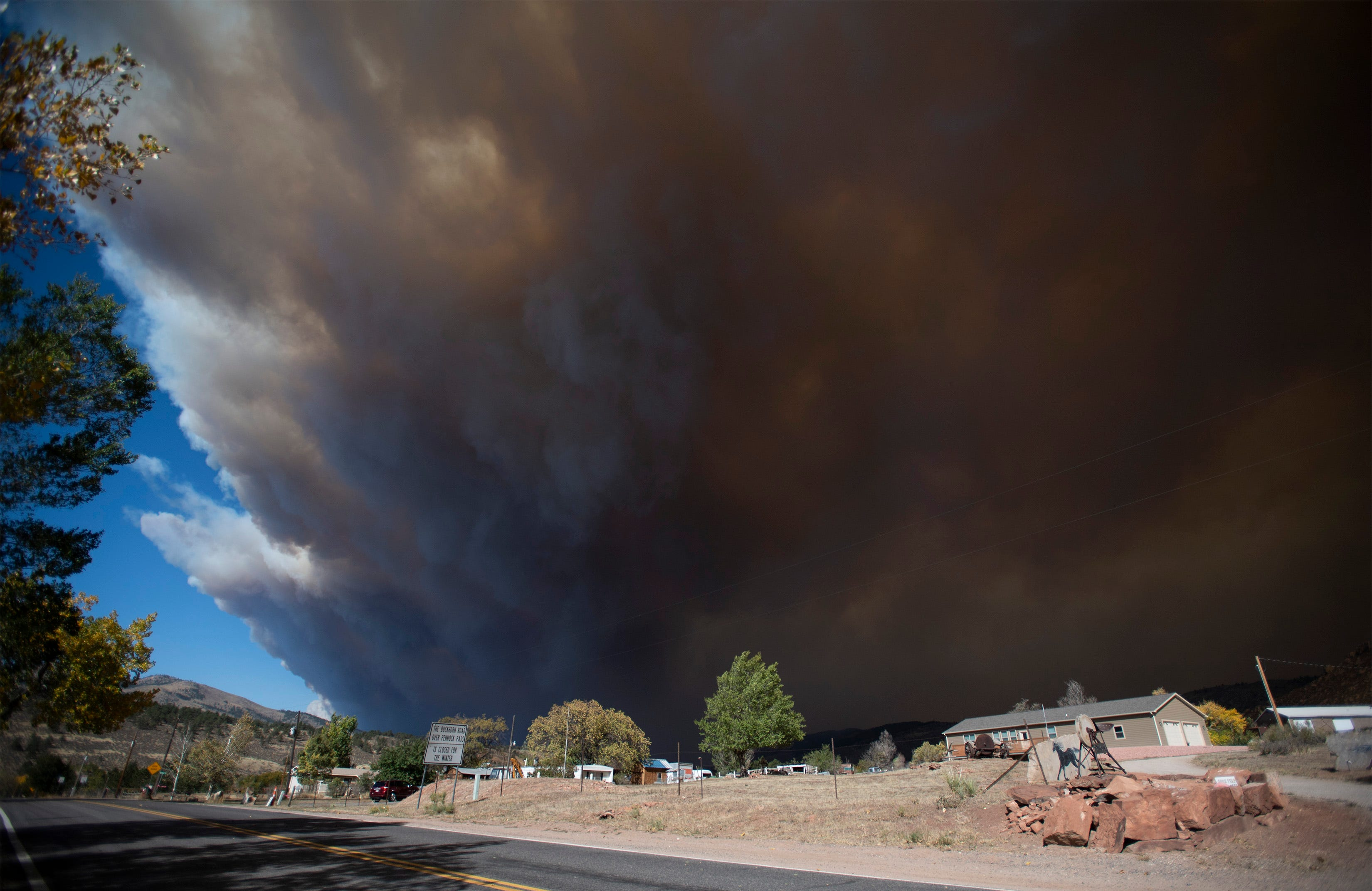 Cameron Peak Fire becomes largest wildfire in Colorado history, growing more than 20,000 acres in a day