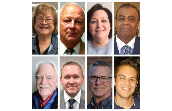 Candidates for Henderson City Commission: Becky Hudson-Brown, Tom Davis, Velvet Dowdy, Robert Pruitt, X.R. Royster, Brad Staton, Rodney Thomas and Austin Vowels
