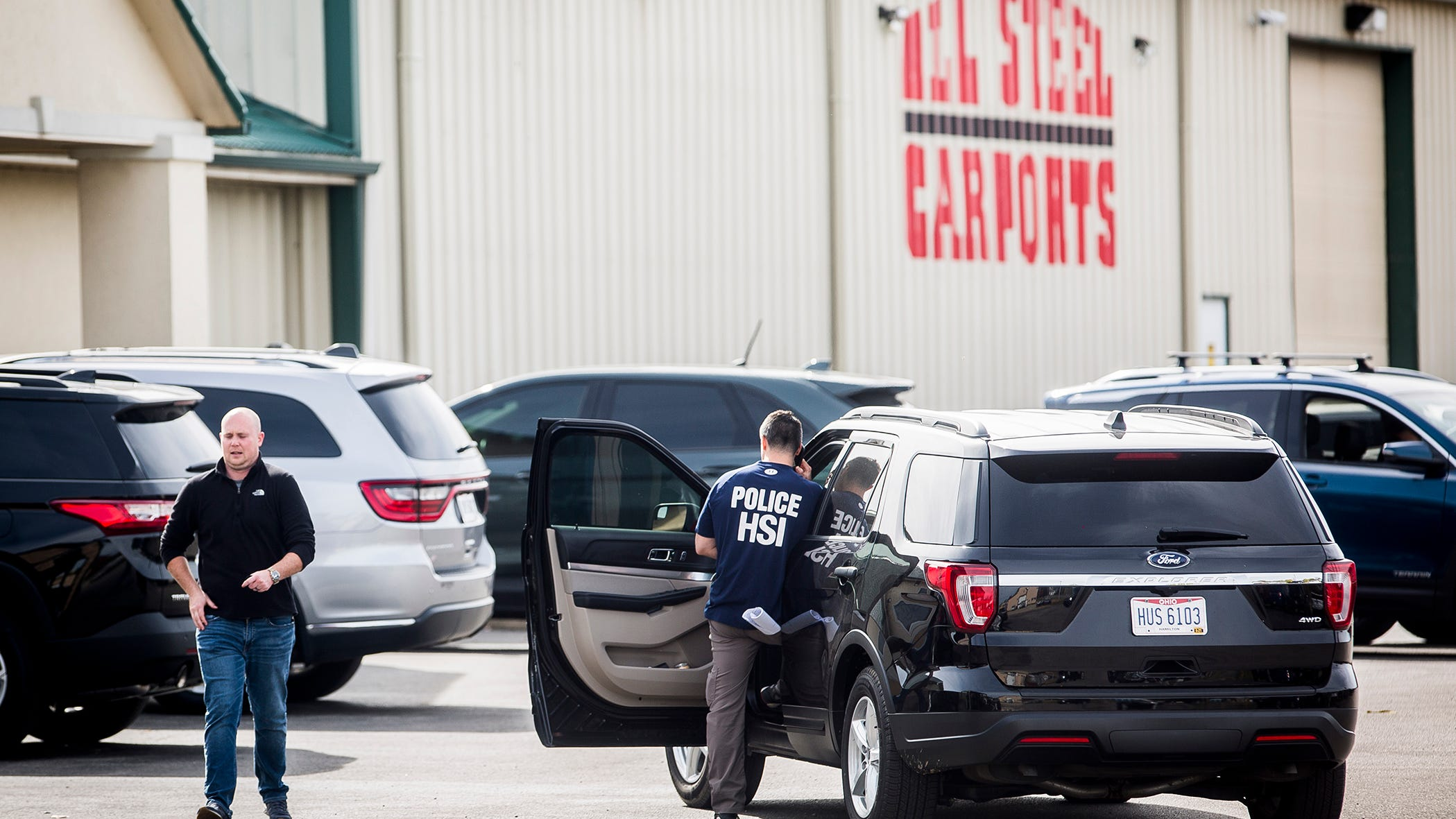 Homeland Security Raids All Steel Carports In Muncie Indiana
