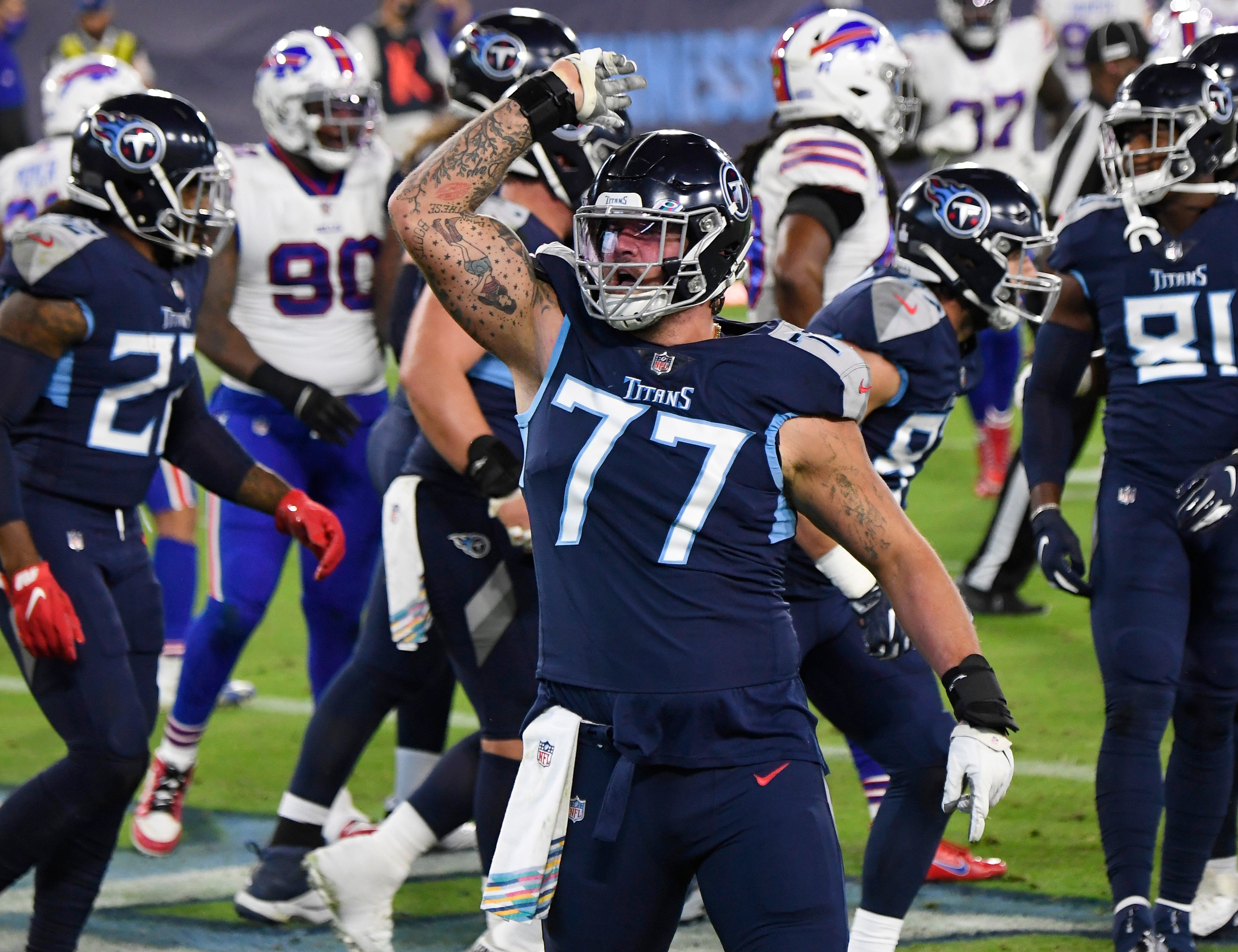 Opinion: Titans are fast becoming the NFL's villains, and they seem to like it