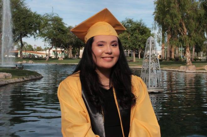 Kimberly Selano Vera won first place, category 3, in the Coachella Valley Repertory's inaugural Writing Competition.