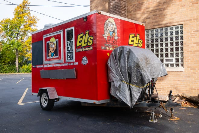 Gary Lokers, owner of local food truck Eli's Eats in the Streets, is selling his food trailer with an asking price of $50,000. Lokers has been operating the food truck since 2017.
