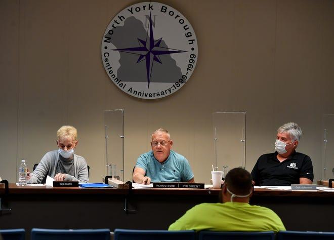 North York Borough Council meeting, Tuesday, October 13, 2020.John A. Pavoncello photo