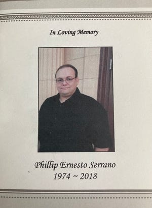 Phillip Serrano was shot and killed by police when they responded to a domestic disturbance call on Sept. 23, 2018.