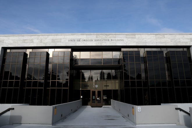 The State Executive Building which houses the Oregon Department of Administrative Services in Salem, Oregon on Wednesday, Oct. 14, 2020.