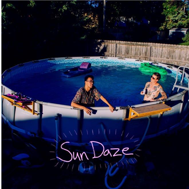 Cover art for Sun Daze's self-titled EP.