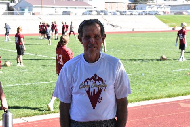 Cedar High cross country coach Bob Corry.