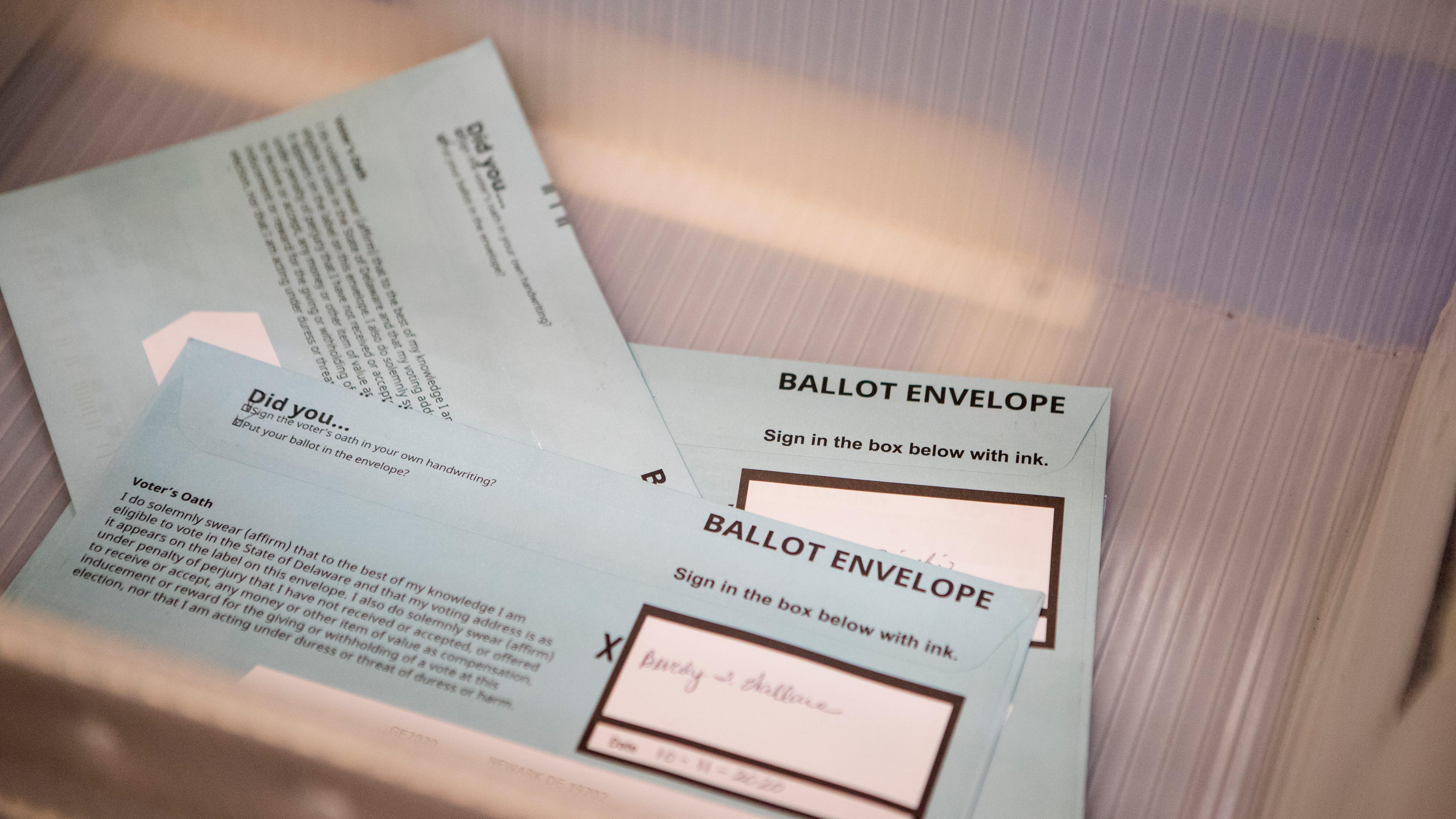 Republicans block bill to create no-excuse absentee voting in Delaware